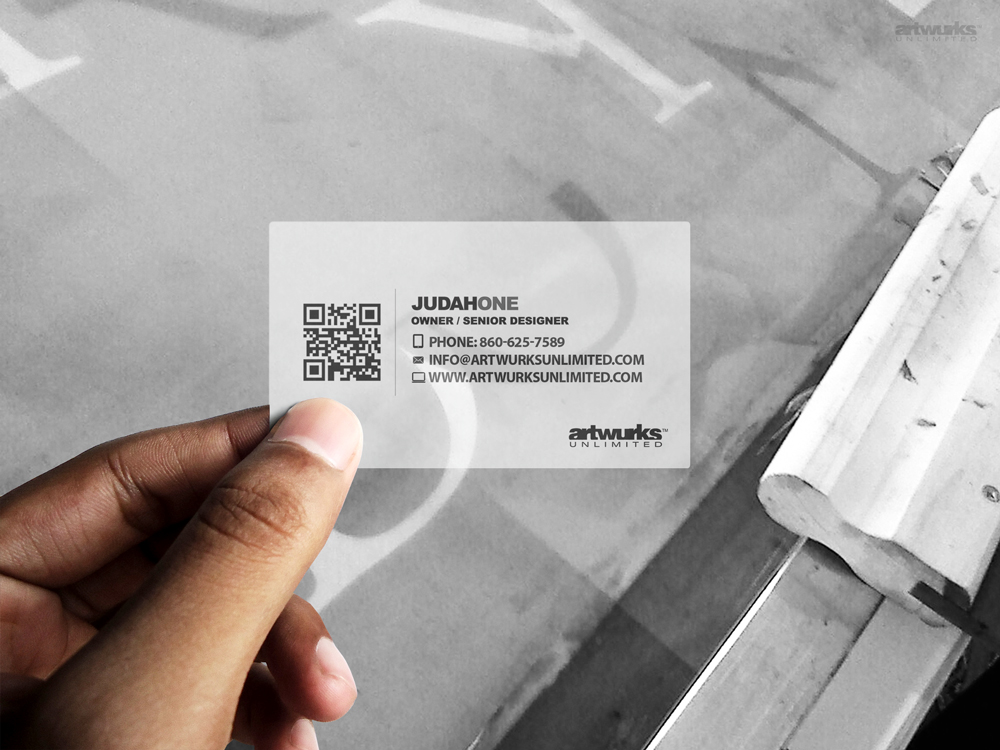 Plastic Business Cards – Artwurks Unlimited
