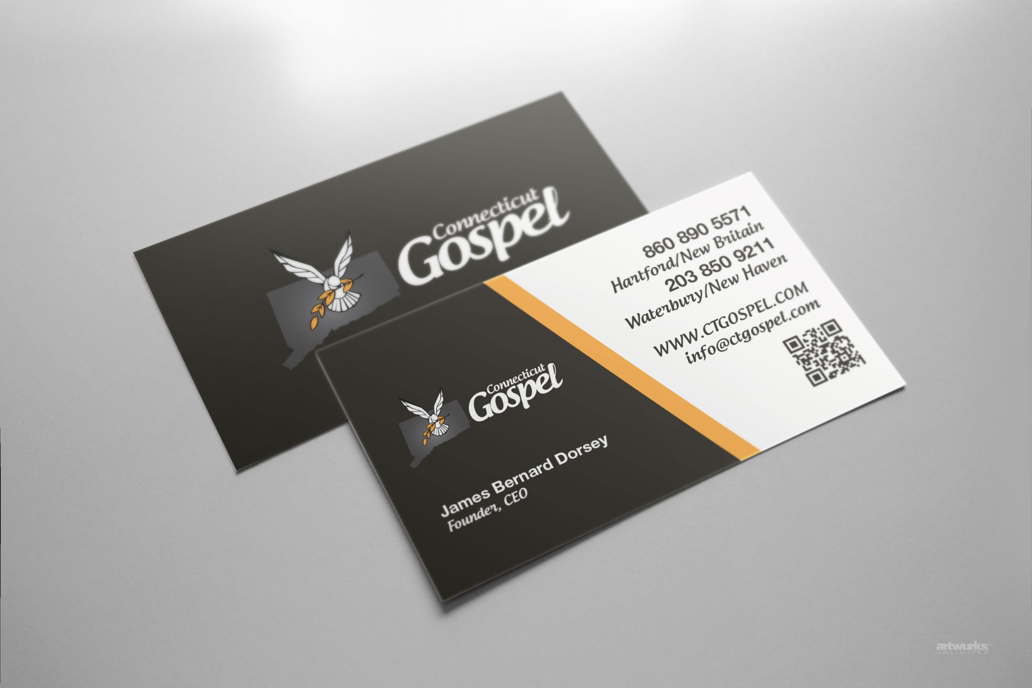 Custom Card Template buisness cards : Standard Business Cards : Artwurks Unlimited