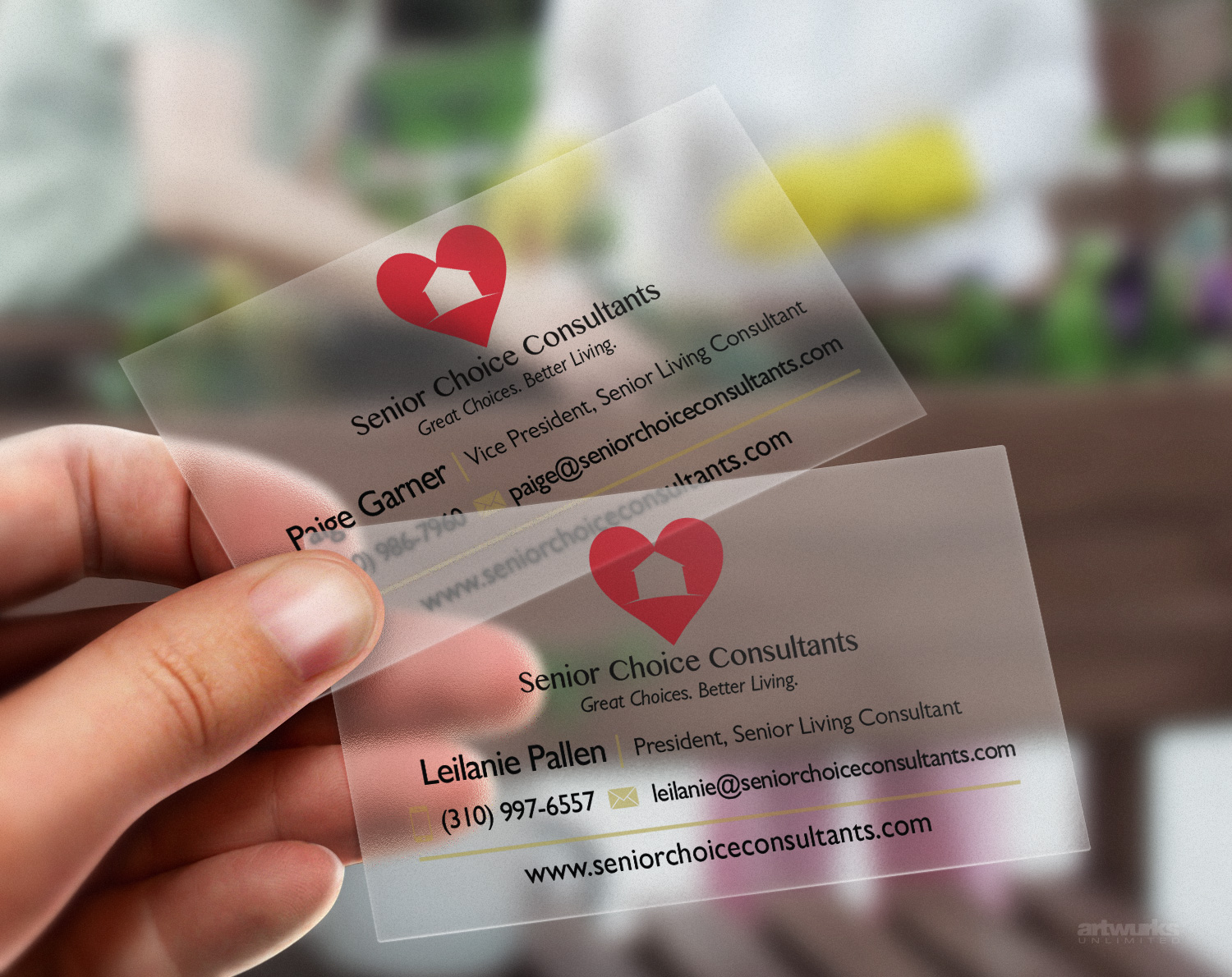 Plastic Business Cards – Artwurks Unlimited