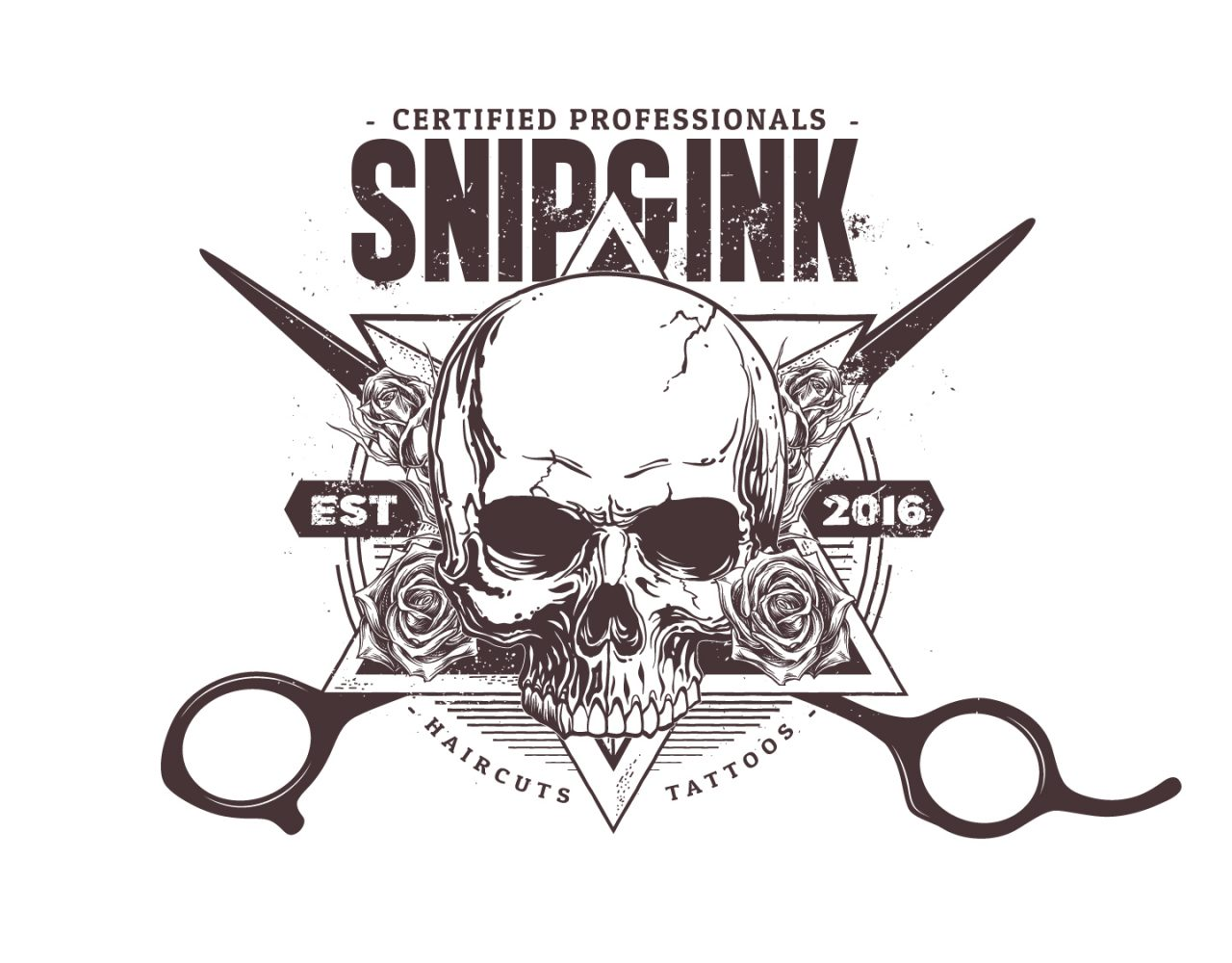 Snip & Ink Salon logo